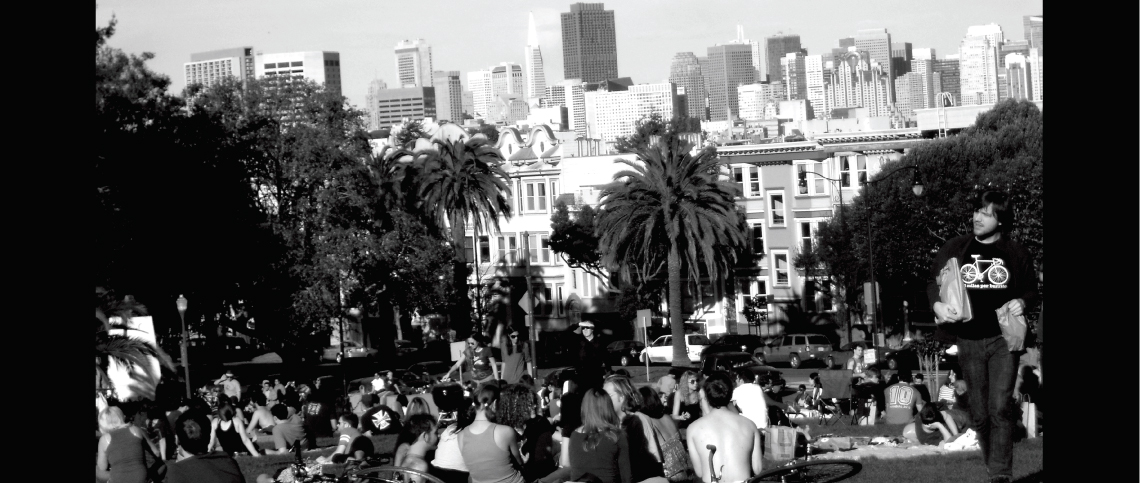 The Mission District's Dolores Park