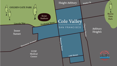 Cole Valley District Map