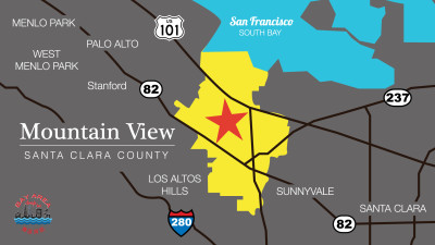 Mountain View District Map